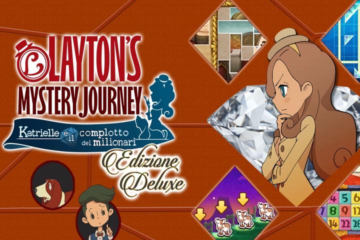 LAYTON'S MYSTERY JOURNEY: Katrielle e il complotto dei milionari (Edizione Deluxe) – Analisi della versione Switch