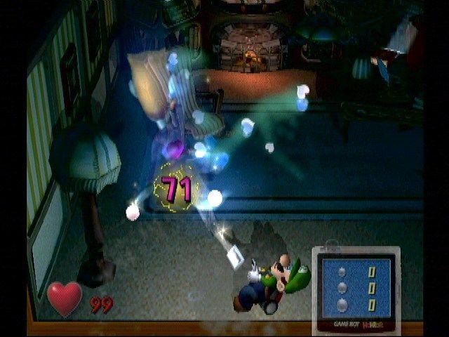 Luigi's Mansion gameplay 3