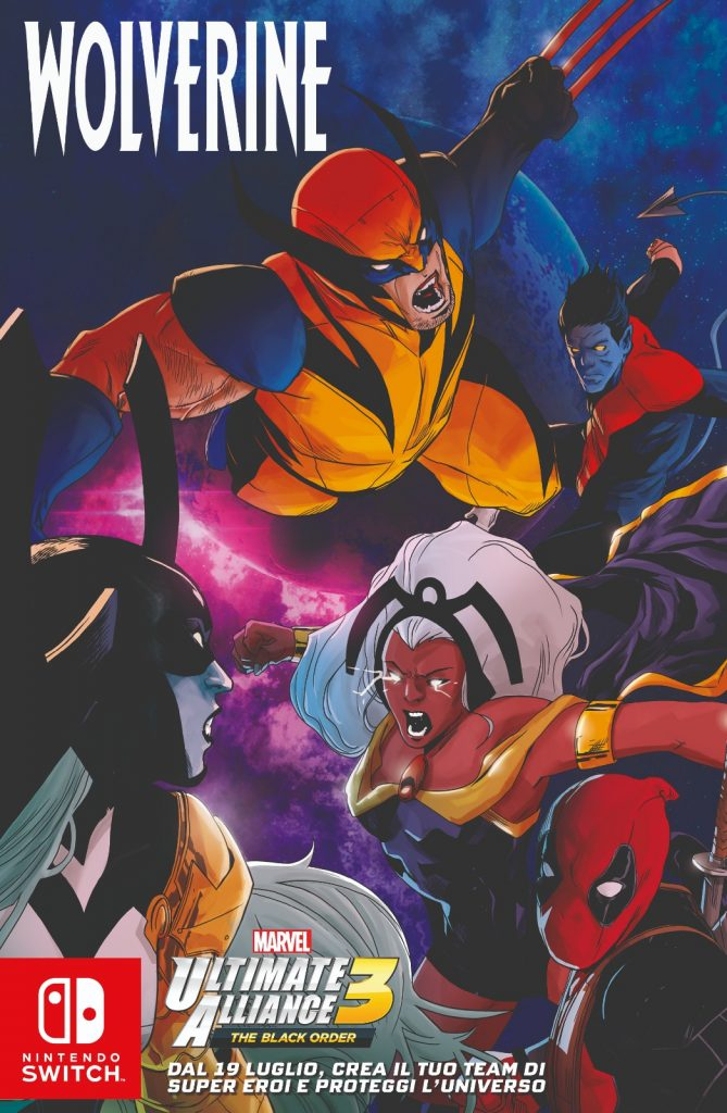 Copertina di Marvel Ultimate Alliance 3
