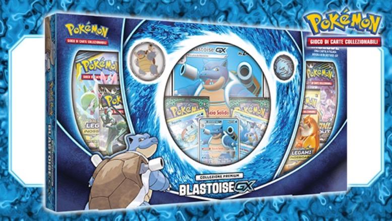 Pokémon Collezione Premium Blastoise-GX