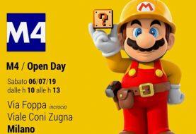 Super Mario in versione umarell ha... supervisionato il cantiere della nuova metropolitana di Milano!