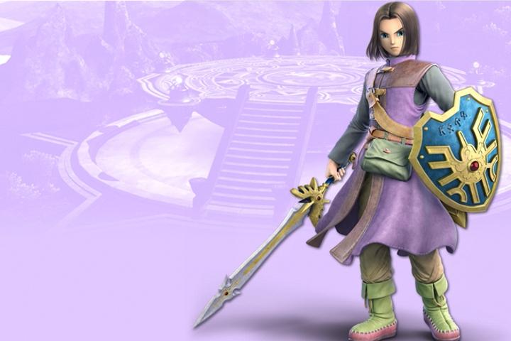Super Smash Bros. Ultimate, la data di uscita dell'Eroe di Dragon Quest verrà resa nota domani!