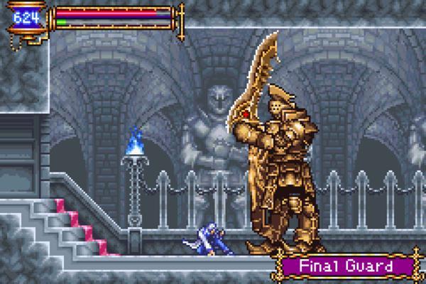 Aria of Sorrow gameplay 2
