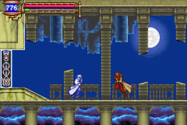 """Una volta completato il gioco, abbiamo la possibilità di iniziare """"Nuovo gioco +""""; tutto l'equipaggiamento e le anime raccolte saranno utilizzabili da subito; inoltre possiamo scegliere di iniziare con modalità Difficile! Sbloccheremo anche la modalità Boss Rush dove affronteremo i vari boss uno dopo l'altro; sarà disponibile pure la """"Julius mode"""" dove prenderemo il controllo di Julius Belmont, l'unico membro del clan Belmont che ha sigillato Dracula 35 anni prima gli avvenimenti di Aria of Sorrow. Nello sviluppo il produttore Koji Igarashi dichiarò di voler provare un """"percorso diverso"""" per la serie con Aria od Sorrow, inserendolo il gioco in un ambiente futuristico. I disegni dei personaggi sono stati resi più contemporanei, utilizzando abiti moderni rispetto al look più medioevale dei precedenti episodi si Castlevania. Igarashi inoltre ha basato la storia sulla profezia di Nostradamus con l'eclissi solare del 1999 avvenuta nell'Europa orientale."""