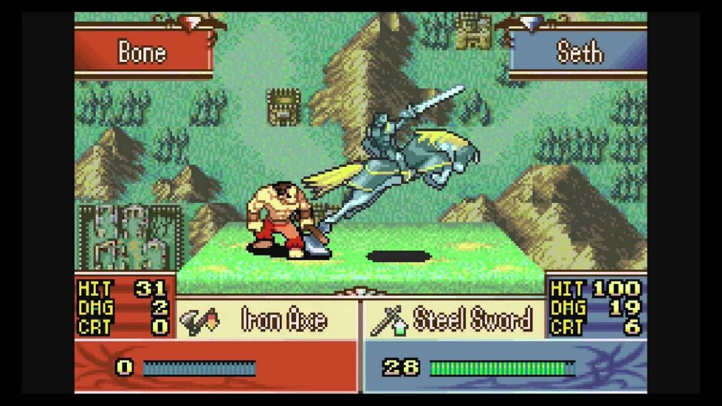 Fire Emblem The Sacred Stones gameplay 1