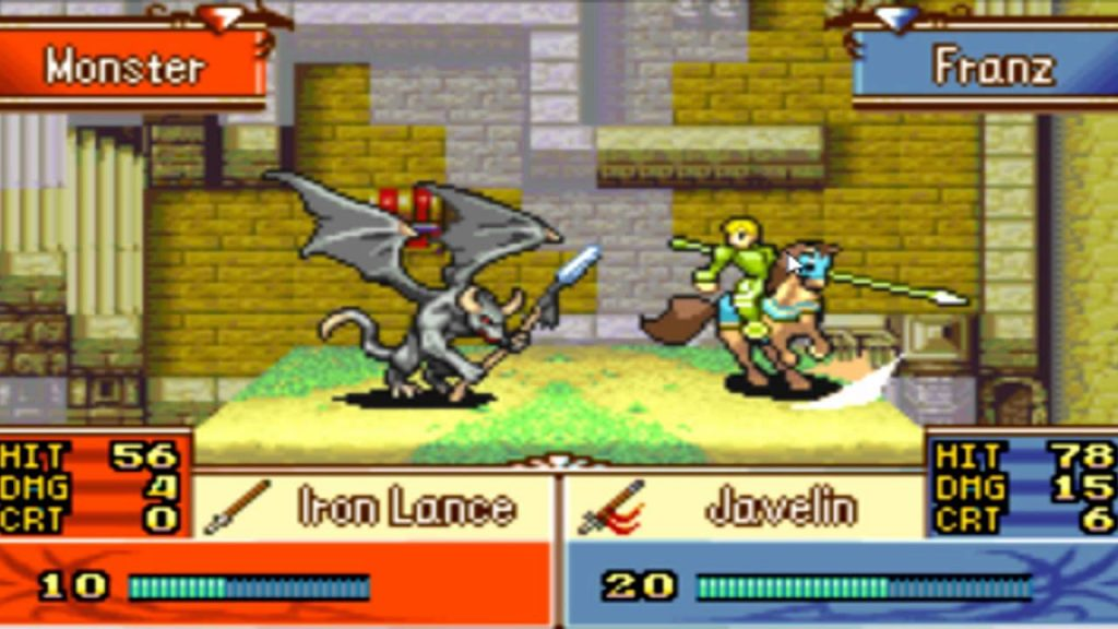 Fire Emblem The Sacred Stones gameplay 3