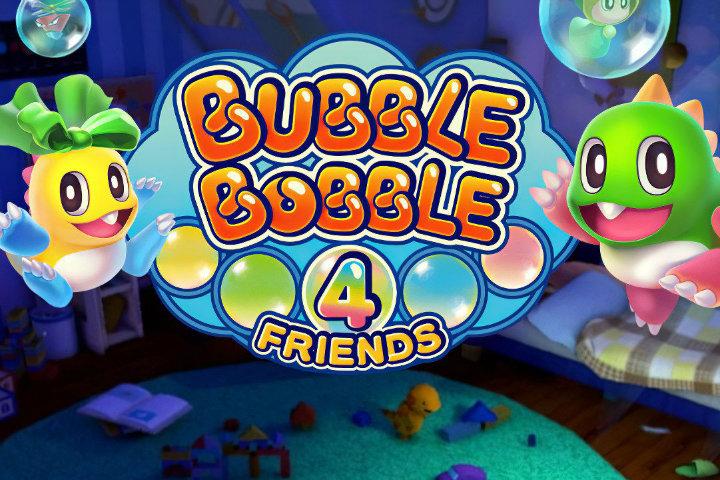 Bubble Bobble 4 Friends è il nuovo titolo della serie, in esclusiva Nintendo Switch