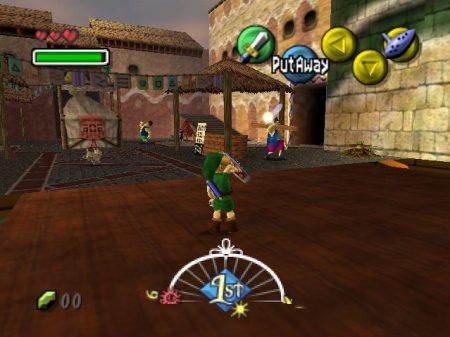 Majora's Mask gameplay 2