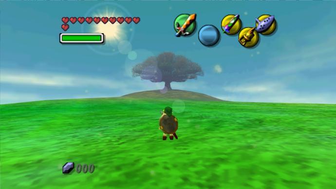 majora's mask gameplay 3