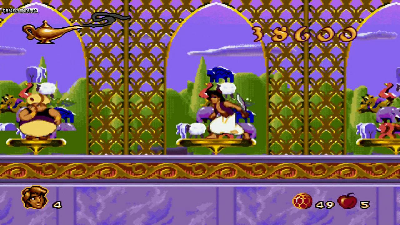 Aladdin Sega gameplay 1