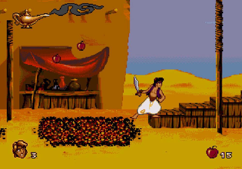 Aladdin Sega gameplay 3