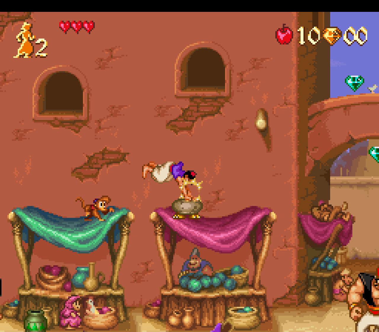 Aladdin gameplay 1