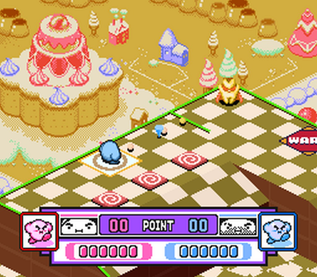 Kirby's Dream Course gameplay