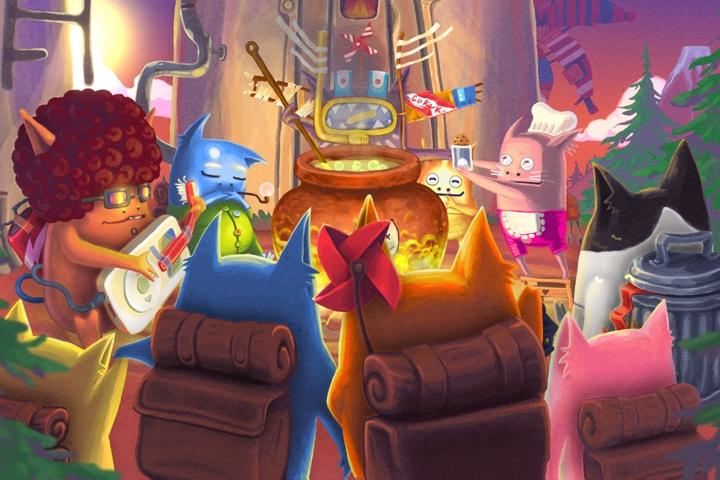 Molecats, il puzzle game d'avventura è arrivato su Nintendo Switch!