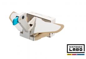 Nintendo Labo Kit VR, montiamo e proviamo l'Uccello Toy-Con!