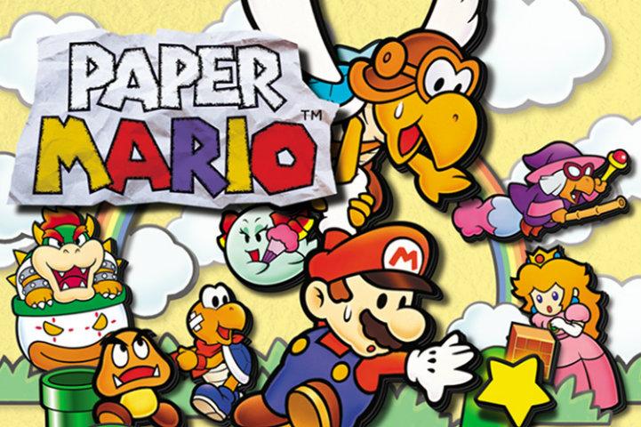 Paper Mario cover