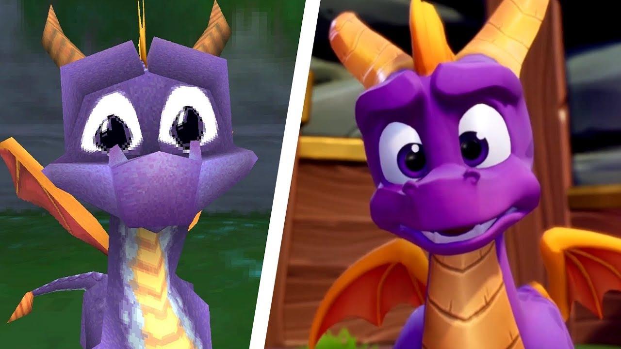 Spyro - old VS new