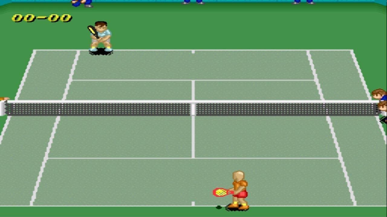 Super Tennis Gamelay