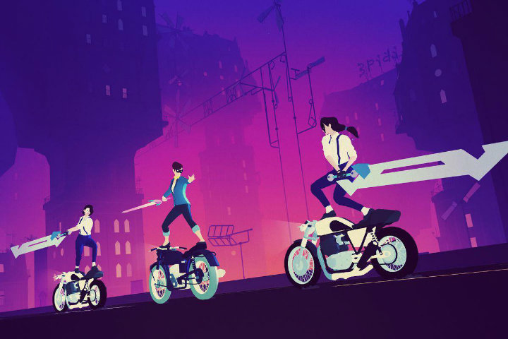 Sayonara Wild Hearts sbarcherà su Nintendo Switch, PlayStation 4 e dispositivi Apple