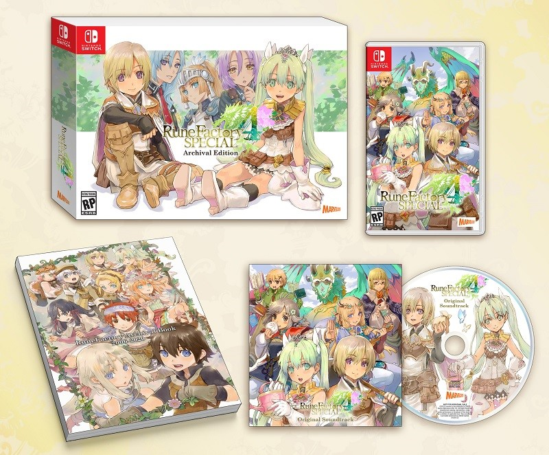 Rune Factory 4 Archival Edition