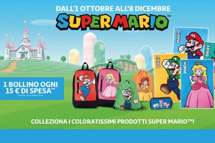 Nuova collezione Nintendo con Super Mario & Co da Auchan e Simply
