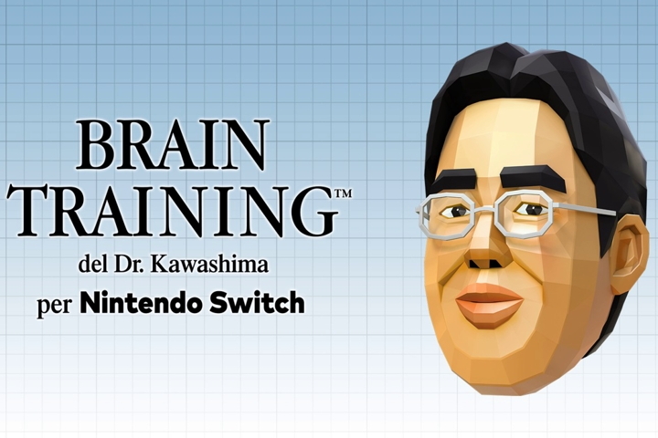 Brain Training del Dr. Kawashima per Nintendo Switch ha un trailer di lancio