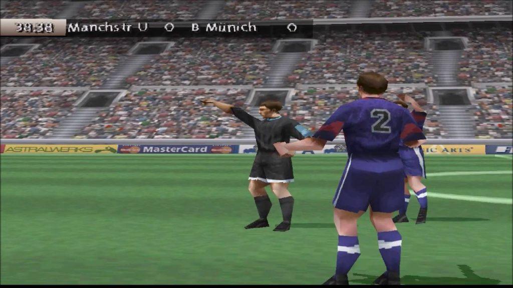 Fifa 99 gameplay