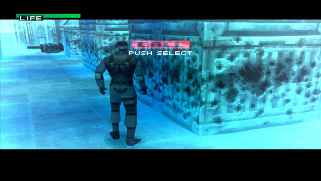 Metal Gear Solid gameplay 4