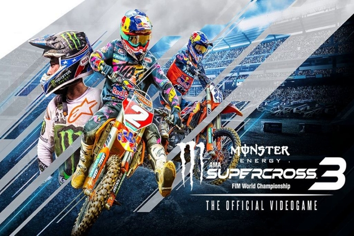 Monster Energy Supercross – The Official Videogame 3 annunciato per PC, console e Google Stadia!