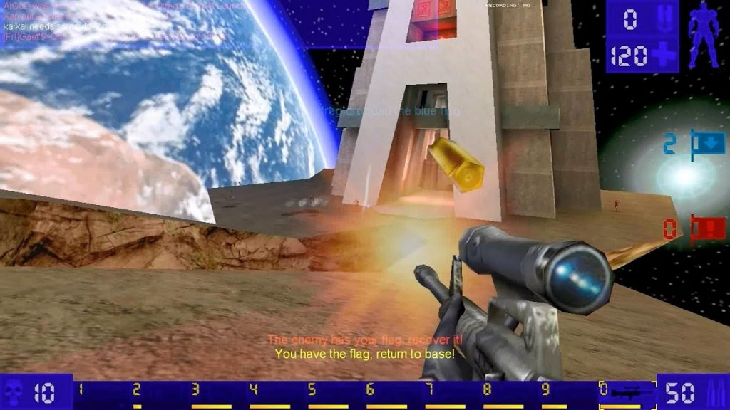 Unreal Tournament gameplay 3