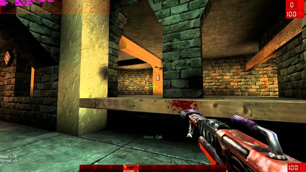 Unreal Tournament gameplay 2