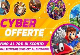 Cyber Offerte 2019, in arrivo sconti su più di 150 giochi sull'eShop di Nintendo Switch!