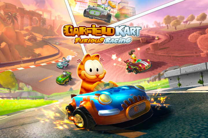 Garfield Kart Furious Racing è finalmente disponibile