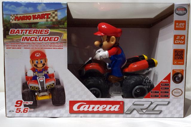 Carrera RC 2.4GHz Mario Kart Quad – Recensione