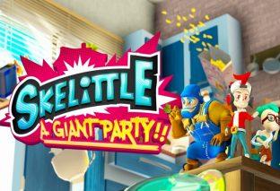 Skelittle: A Giant Party!, il party game è in arrivo a fine mese su Steam e Nintendo Switch!