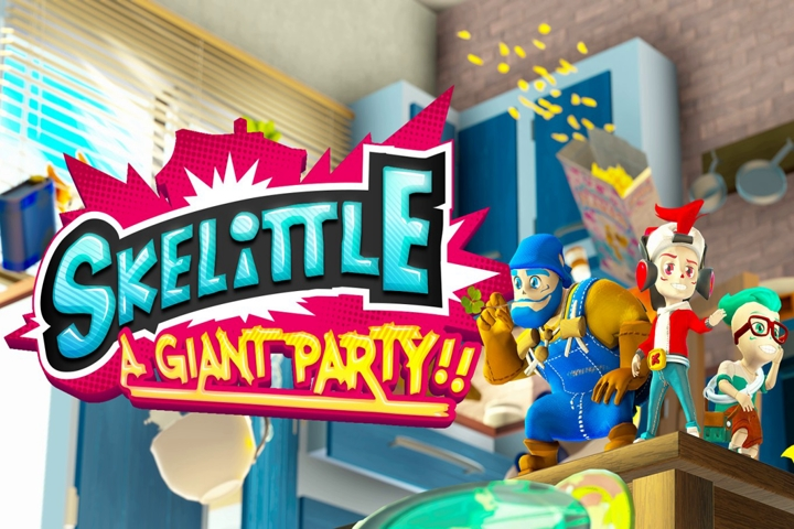 Skelittle: A Giant Party!