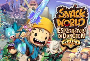 SNACK WORLD: Esploratori di dungeon – Gold arriverà a febbraio 2020 su Nintendo Switch!