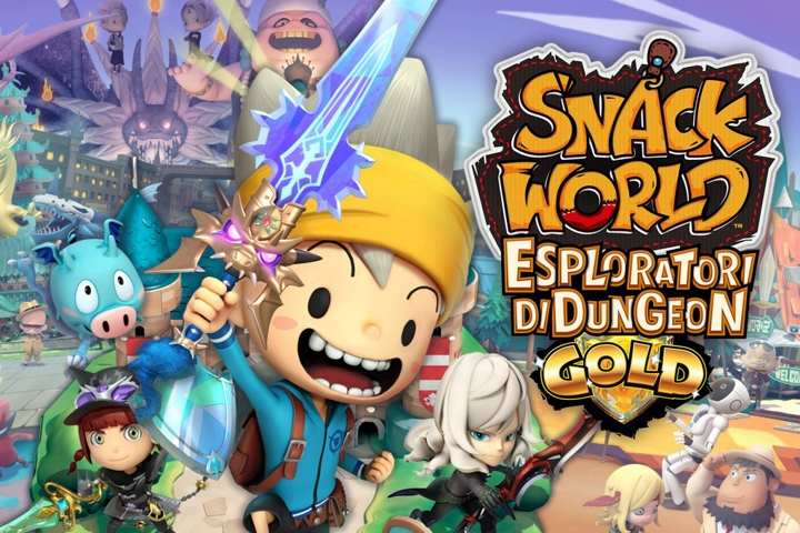 SNACK WORLD: Esploratori di dungeon – Gold arriverà a febbraio 2020 su Nintendo Switch!