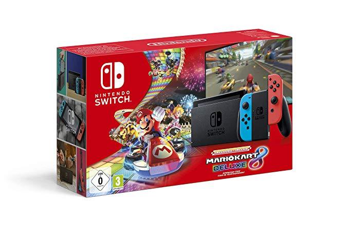 Nintendo Switch e Mario Kart 8 Deluxe Bundle