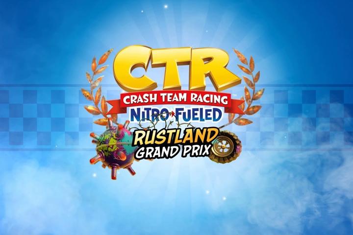 Crash Team Racing Nitro-Fueled, parte oggi il Gran Premio di Rustland!