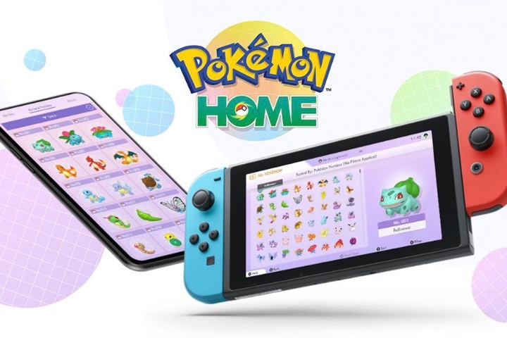 Pokémon Home è disponibile su Nintendo Switch e dispositivi mobili!
