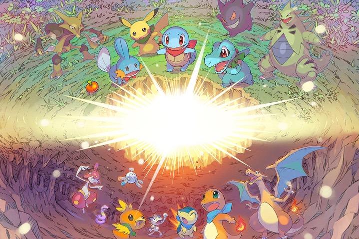 Annunciato Pokémon Mystery Dungeon Squadra di Soccorso DX!