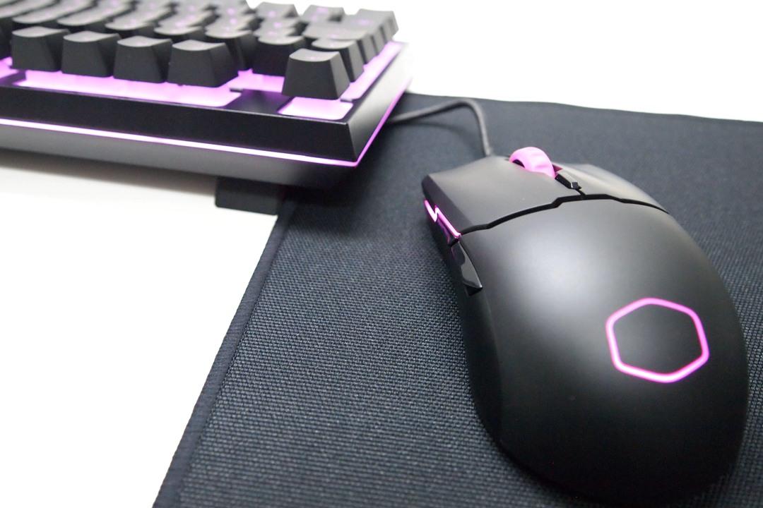 Cooler Master MS110 e Mousepad MP510