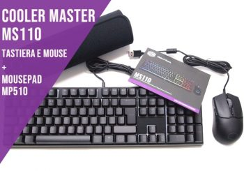 Cooler Master MS110 e Mousepad MP510 - Recensione