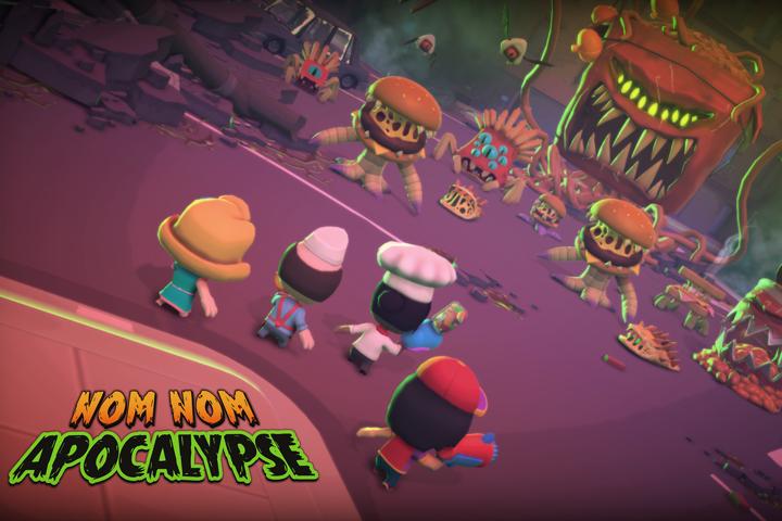 Nom Nom Apocalypse, lo sparatutto roguelike è in arrivo a febbraio su PC, più avanti su Nintendo Switch e XB1!