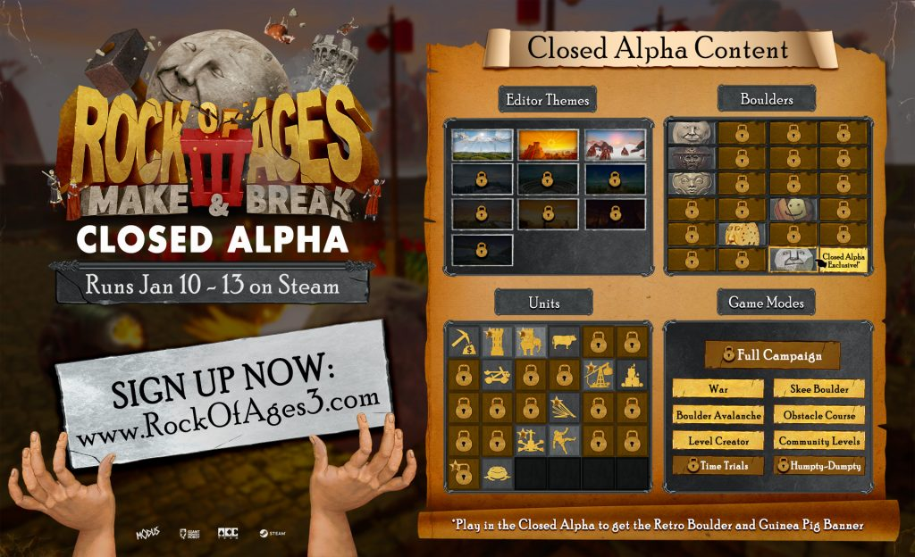 Rock of Ages 3 - Closed Alpha