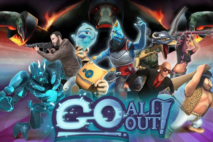 Go All Out!, il fighting game a piattaforme è arrivato su Nintendo Switch!