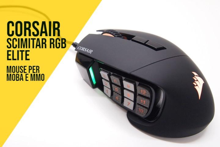 Corsair Scimitar RGB Elite