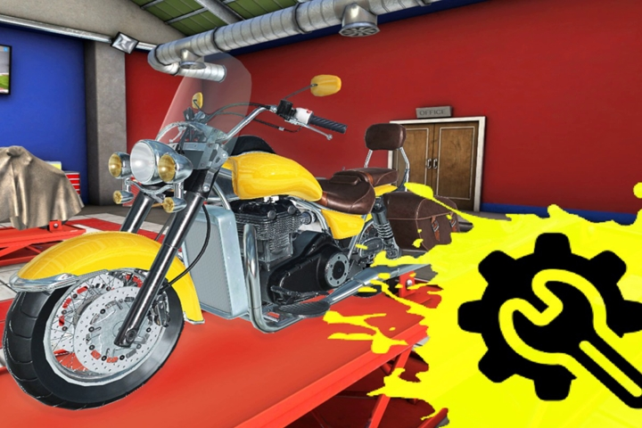 Motorcycle Mechanic Simulator su Nintendo Switch, i nostri primi minuti di gioco!