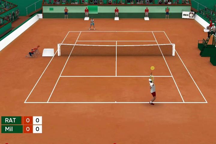 Tennis Open 2020 su Nintendo Switch, i nostri primi minuti di gioco!